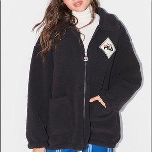 FILA UO Exclusive Sherpa Teddy Jacket